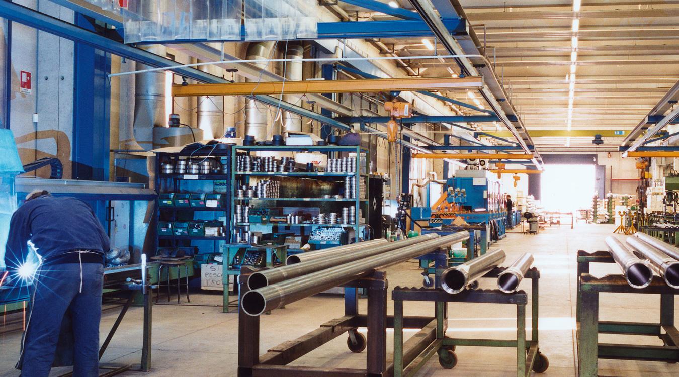 Département pistons et centrales hydrauliques