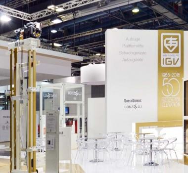 IGV Group à Interlift 2015